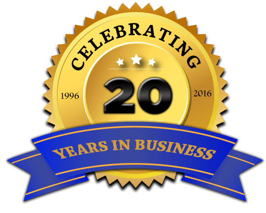 Celebrating our first 20 years!